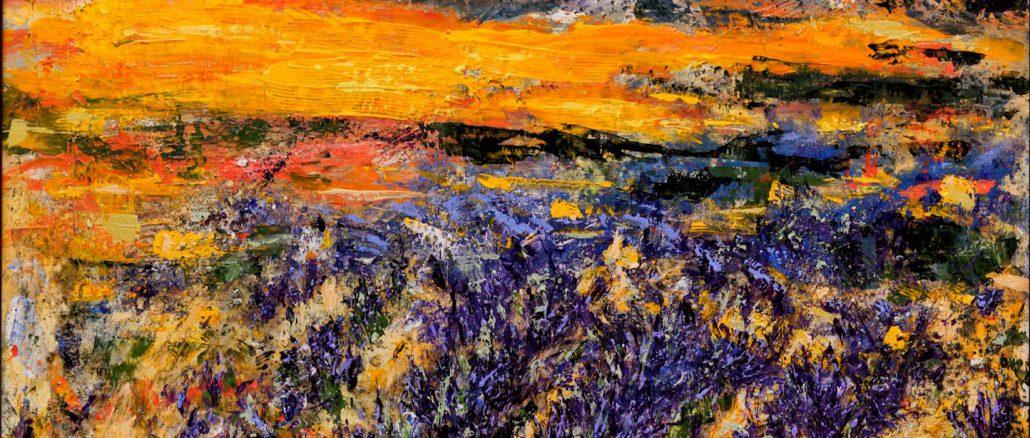 Provence Abendstimmung I
