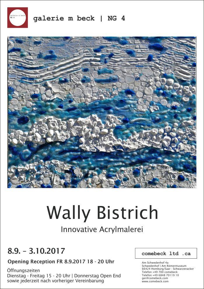 """Poster zur Ausstellung """"Innovative Acrylmalerei"""""""