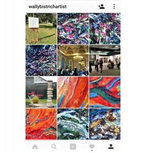 Follow wallybistrichartist on Instagram!