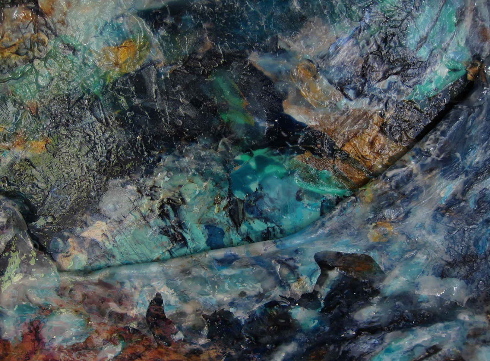 """Detail """"Unter der Oberfläche"""""""
